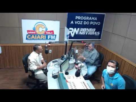 Programa A Voz do Povo - 26/10/2020 - Entrevista o candidato a prefeito de Porto Velho Geneci Gonçalves do PSTU