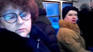 12.01.2018 Утро в саратовском трамвае