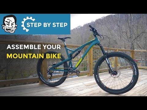 How to Assemble a Mountain Bike with Basic Tools | A Tutorial