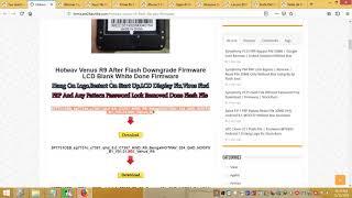 hotwav r9 flash file without password - मुफ्त