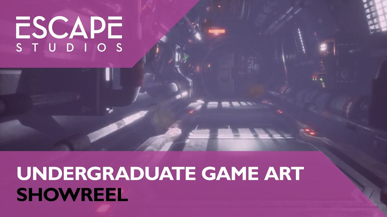 Undegraduate Game Art Showreel 2019