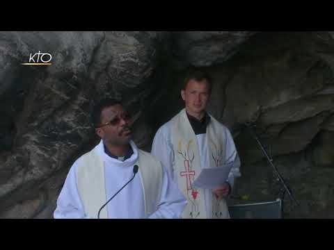 Chapelet à Lourdes du 20 mars 2020