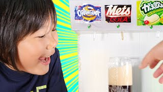 How to Make Cola Soda Dispenser at Home out of Cardboard