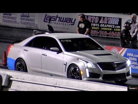 2016 Cadillac CTS V modified, dragging