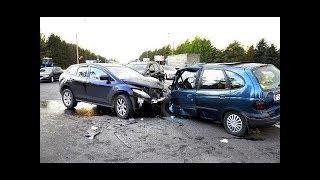 Аварии на дорогах, приколы на дорогах 2018 2