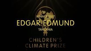 Children's Climate Prize winner 2017