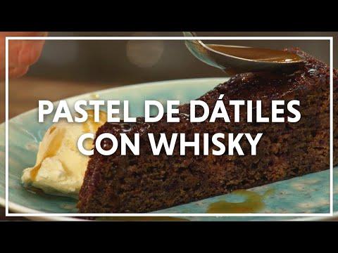 Receta De Un Riquísimo Pastel De Dátiles Con Whisky