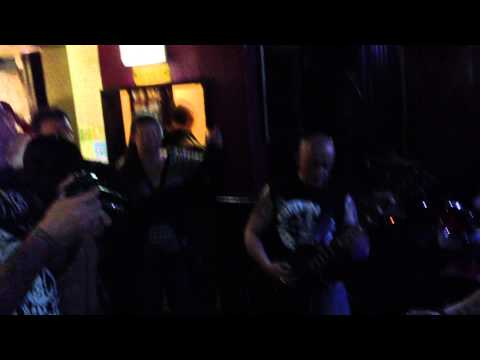 Deathbullet live in Chepstow.