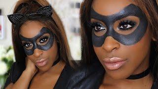 HMONGHOT.COM - Catwoman Makeup Tutorial - Halloween Makeup Ideas