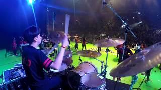 Hay Libertad En La Casa De Dios - Art Aguilera - Drum Cam Live - Johan Perez Drum