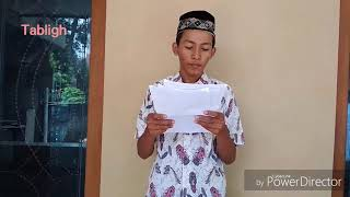 Tabligh Muhammad Roni A/12/XI Mesin 4