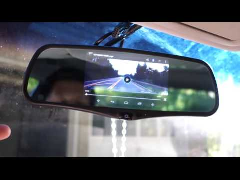"SmarTure 5"" Android Smart GPS Rearview Mirror REVIEW"