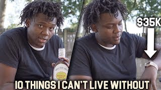 10 Things 6'7 270lb Ty'Rion Denson Can't Live Without | HJ