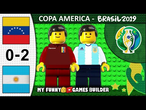 Venezuela vs Argentina 0-2 • Copa America 2019 (28/06) All Goals Highlights Lego Football Film