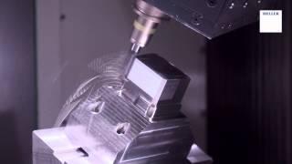 5-Achs-Bearbeitung eines Formeinsatzes für ein Spritzgusswerkzeug .