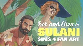 Sims 4 Fan Art – Bob and Eliza Pancakes