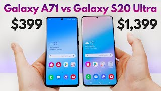 Samsung Galaxy A71 vs Samsung Galaxy S20 Ultra - Who Will Win?