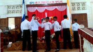 Pantomima Hombres de valor  iglesia morav.muelle