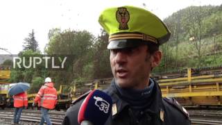 Italy: Two dead after collision on train tracks near Austrian border