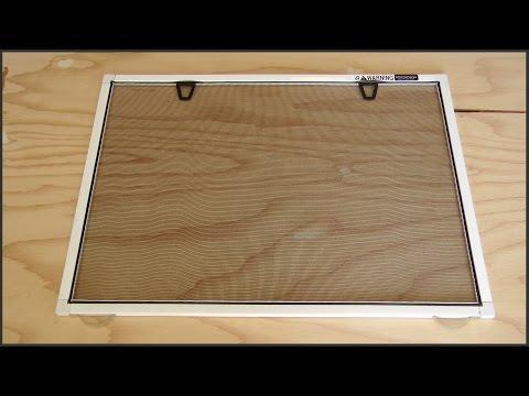 How To Build Window Screens