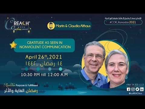 Martin & Claudia Althaus - Gratitude as Seen in Nonviolent ...