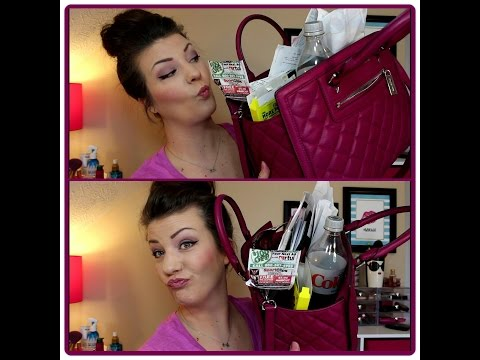 What's in my bag/purse? | Michael Kors Quilted Bag