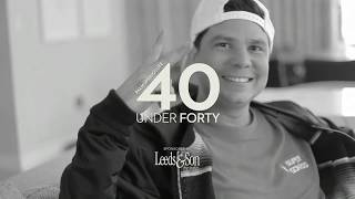 Palm Springs Life Magazine Honors Alf Alpha in the 40 under 40 for 2018