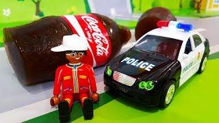 Мультики про машинки. Полицейская машинка в мультике – Желейная Кока Кола. Мультфильмы для детей