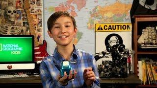 Nat Geo Kids Check Out A Cartoon Robot