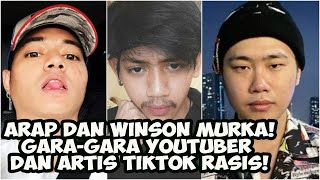 Reza Arap & Winson Reynaldi Murka Karena Ripanzul! Youtuber + Artis Tiktok Rasis!