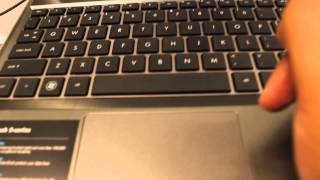 How to fix a mousepad on a HP laptop.