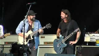 """Foo Fighters @ Hangout Fest- """"Stay With Me"""" (Faces Cover) w/ Zac Brown Band  Live on May 15, 2015"""