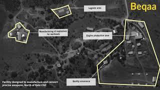 IDF zveřejnila důkazy o továrně Hizballáhu na výrobu přesných raket