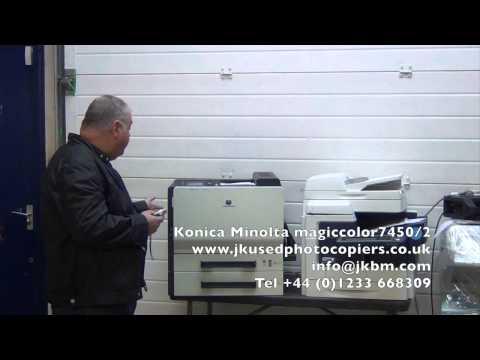 Konica Minolta Magicolor 7450