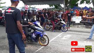 PART3/9 Y15zr Std Body Drag Racing Kubang Menerong Apr 2018