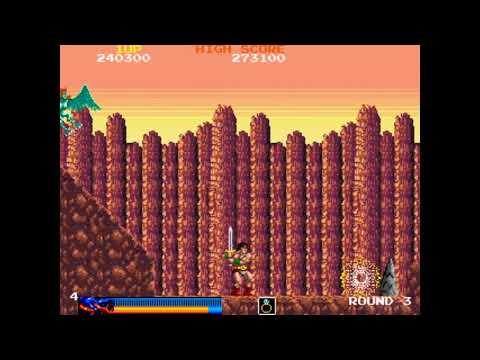 Rastan (Arcade - Taito - 1987) - 773,600 - 1cc