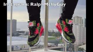 the best attitude ad91e 3119f ... reduced nike x atmos air max 90 duck hunter camo review on feet 9a310  a9ce7