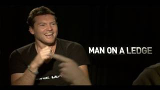 Man on a Ledge Interviews: Sam Worthington, Jamie Bell, Elizabeth Banks & Genesis Rodriguez