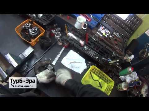 Фото к видео: Ремонт и разборка турбины Volkswagen PHAETON 5.0 TDI, Мотор BI TURBO V10 TDI