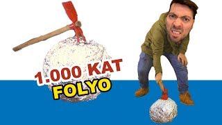 1000 Kat Alüminyum Folyoda Altını Bul - Zorlu Kapışma