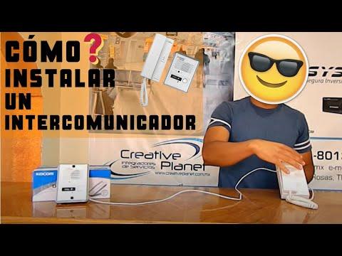 Cómo Instalar un Intercomunicador