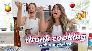 DRUNK COOKING WITH US!! Romy & Losh - Ep 1 by MissRemiAshten