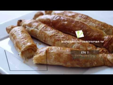 Espárragos con Hojaldre - Asparagus with Puff Pastry