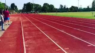 Brogan smashes her 100m PB
