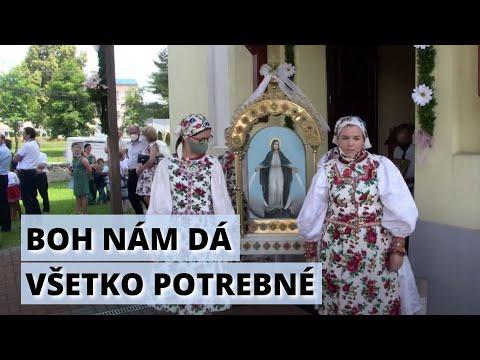 Odpustová slávnosť v obci Kamienka