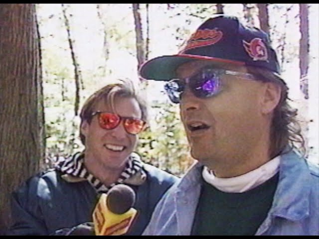Camping with the Mike's from Much Music 1992-10-05