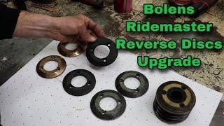Bolens Ridemaster Reverse Discs Upgrade