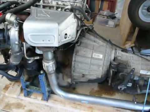 Td5 engine & auto box - bench test