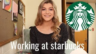 What it's like working at Starbucks // My experience