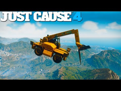 Just Cause 4 - Fails #4 (JC4 Funny Moments Compilation)
